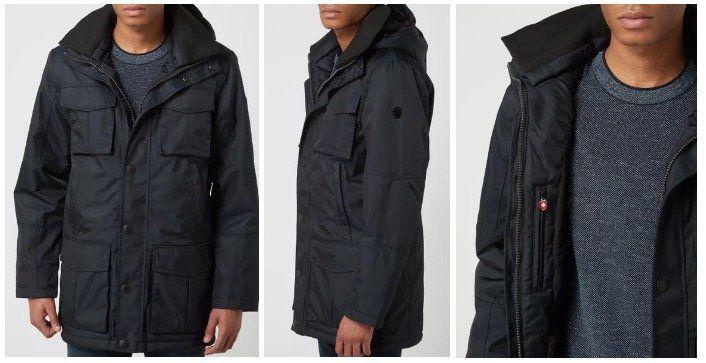Wellensteyn Vancouver 66 Funktionsjacke mit abnehmbarer Kapuze in Marineblau für 149,99€ (statt 260€)