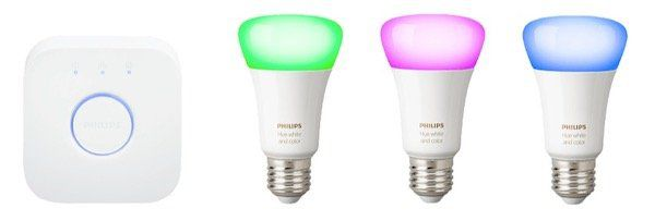 3er Pack Philips Hue White & Color Ambiance E27 Bluetooth Lampen + Bridge ab 106,84€(statt 135€)