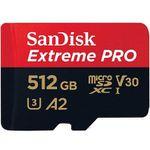 SANDISK Extreme PRO 512GB Micro-SDXC A2 Speicherkarte für 147,73€ (statt 180€)