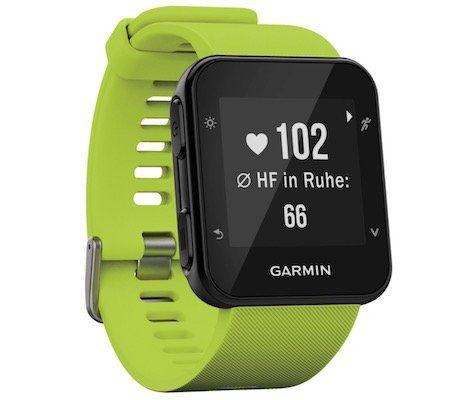 Vorbei! Garmin Forerunner 35 GPS Laufuhr mit Herzfrequenzmessung für 58,42€ (statt 116€)