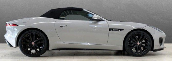 Privat & Gewerbe: Jaguar F Type Cabrio P380 R Dynamic in Borasco Grey mit 379PS für 499€   LF 0,49