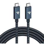 Rampow USB-C auf USB-C Kabel mit Nylon-Mantel (2m) für 11,69€ (statt 18€)