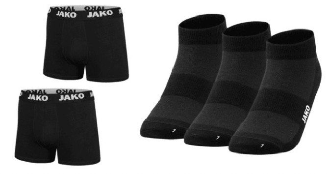 6er Pack Jako Boxershorts + 6 Paar Socken für 29,95€(statt 40€)