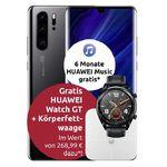 Huawei P30 Pro New Edition + Watch GT + Waage + 6 Monate Huawei Music für 49€ + Vodafone Flat mit 20GB LTE für 29,99€mtl.