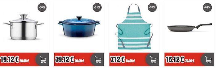 Küchenzubehör im Sale bei Top12    z.B. Berndes Pfanne 28cm für 27,24€ (statt 42,41€)