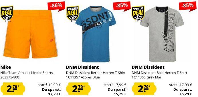 Schnell! 🔥 SportSpar Restgrößen Sale mit Artikeln ab je nur 1,35€ + VSK