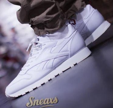 Reebok Classic Leather Herren Sneaker in Weiß für 51,95€ (statt 65€)