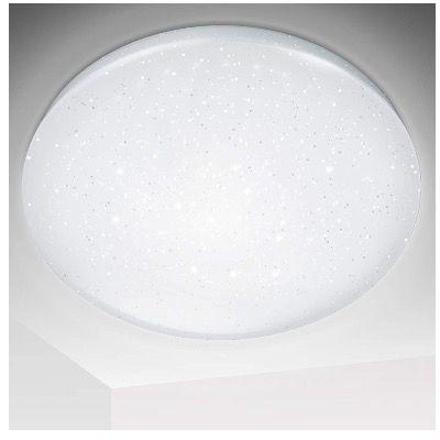 Hengda LED-Deckenleuchte in Kaltweiss mit Sternendekor 16Watt für 14,49€ (statt 23€)