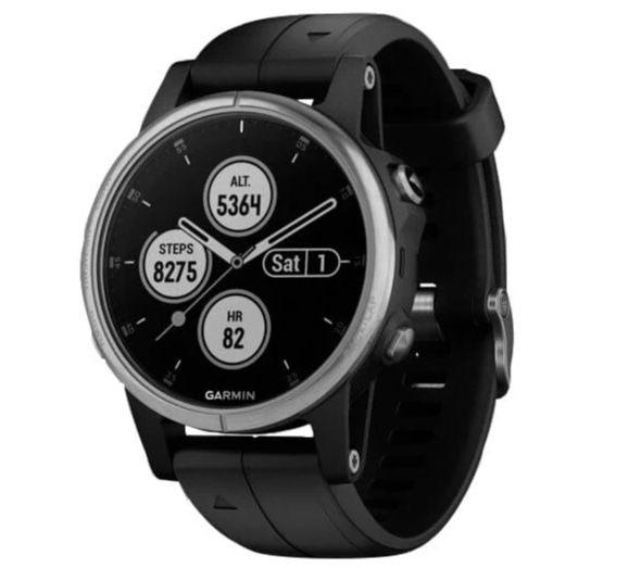 Garmin Fenix 5s Plus Sapphire GPS Multisport Smartwatch für 368,87€(statt 456€)