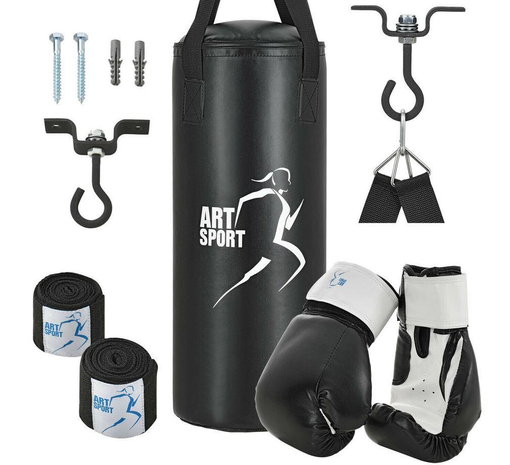 ArtSport Boxsack Set 10kg Sandsack + Boxhandschuhe + Zubehör für 36,95€ (statt 45€)