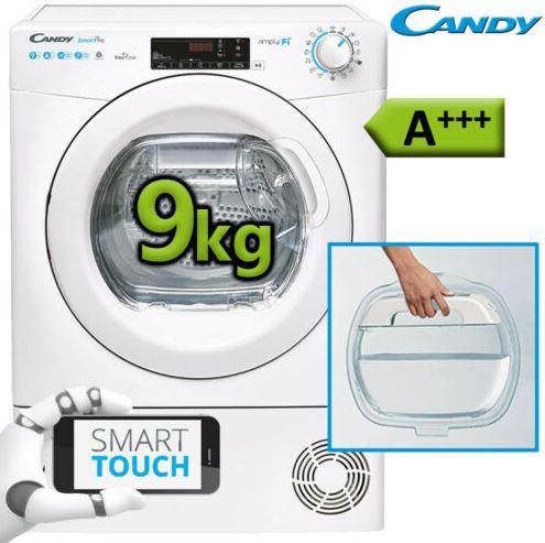Candy CSO H9A3TE S smarter Wärmepumpentrockner 9kg WLan A+++ für 333€ (statt 380€)