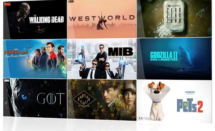 Sky Ticket Entertainment 1 Monate 4,99€ oder mit Cinema 9,99€ für Neukunden   z.B. The New Pope oder Game of Thrones
