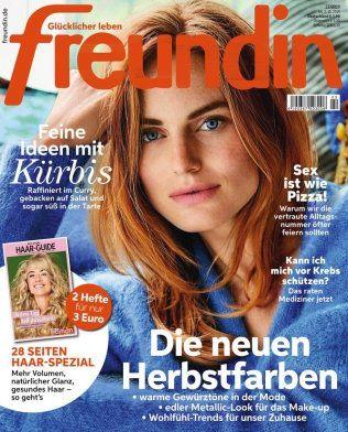 Jahresabo (26 Ausgaben) der Freundin für 85,80€   Prämie: 100€ Swarovski Gutschein