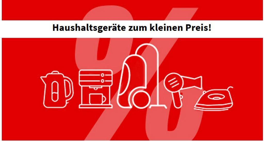 Media Markt Haushaltsgeräte zum kleinen Preis  z.B. WAHL HomePro Combo Haarschneider für 19,99€ (statt 30€)