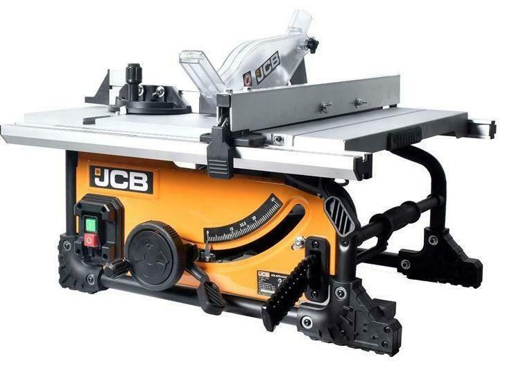JCB 210JS Tischkreissäge mit Sägeblatt 210 mm für 134,91€ (statt 180€)