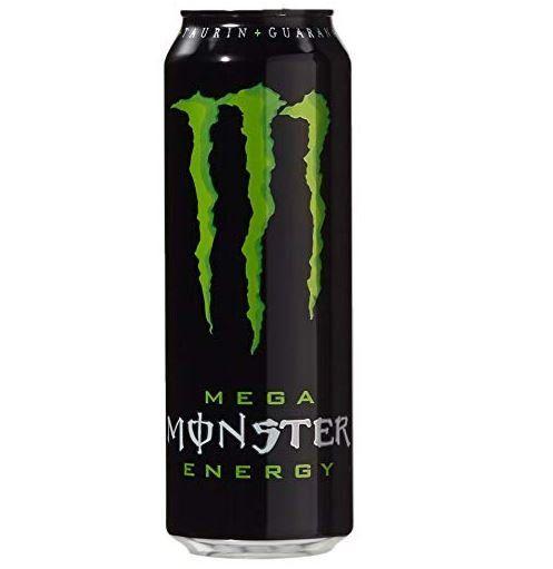 Monster Energy Mega Palette 12 x 553 ml für 13,41€ mit Pfand (prime) statt 21€