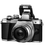 Olympus OM-D E-M10 Mark II – Systemkamera + 14-42 mm Pancake + 45mm Objektiv für 444€ (statt 500€)