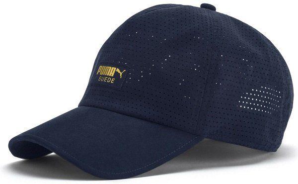 PUMA Suede Baseball Cap in blau und schwarz für 8,05€ (statt 14€)