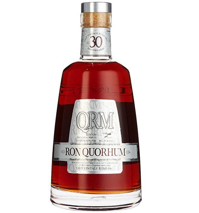 Vorbei! Quorhum Rum 30 Jahre (1 x 0,7 l) 40% Vol. für 44,99€ (statt 56€)