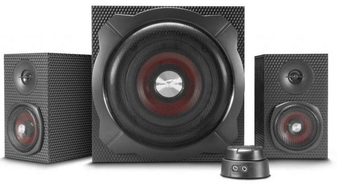 Speedlink Gravity Carbon Sound System mit Subwoofer für 59€ (statt 70€)