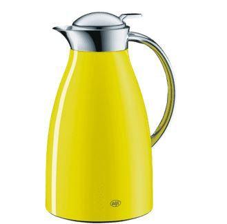 Alfi Excelsia 1 Liter Isolierkanne Gelb für je 22€ (statt 40€)
