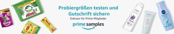 Als Amazon Prime Kunde Produkte gratis ausprobieren