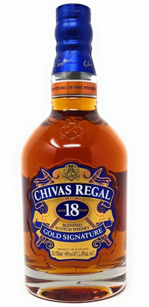 Chivas Regal 18 Jahre Gold Signature Blended Scotch Whisky 39€ (statt 51€)