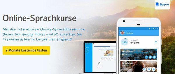 Nur für web.de Kunden: 2 Monate Busuu Premium kostenlos (statt ca. 30€)