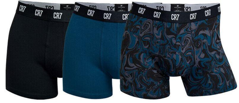 3er Pack CR7 Basic Herren Underwear Boxershorts für 14,95€ (statt 30€)