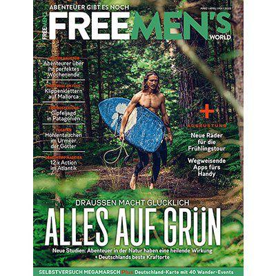 4 Ausgaben Free Mens World für 24,80€ + 15€ Verrechnungsscheck