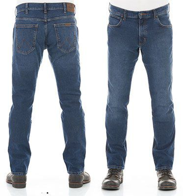 Wrangler Herren Jeans Durable Slim Fit Blue Black für 34,95€ (statt 50€)