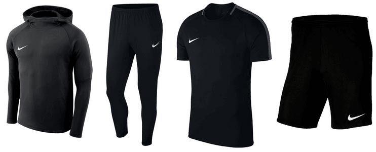 Nike Trainingsset Academy (4 teilig)  für 54,95€(statt 80€)