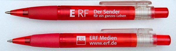 Vorbei! ERF: Kostenlos Kugelschreiber, Klebezettel, Postkarten u.a. abstauben