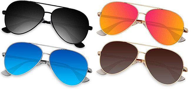 40% Rabatt auf versch. polarisierte Pilotenbrillen mit UV400 ab 9,59€   Prime