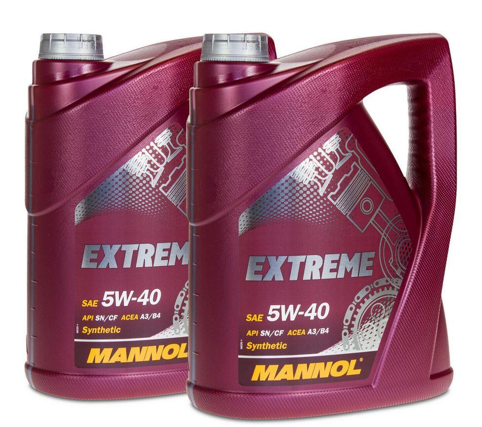 MANNOL SAE 5W 40 Extreme Motoröl 10 l für 30,99€  (statt 38€)