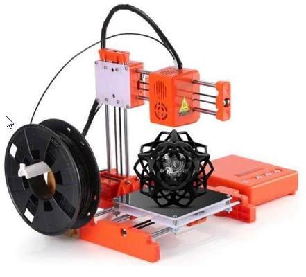 EasyThreed X1 Mini 3D Drucker (10x10x10cm) inkl. Slicing Software für 83,49€