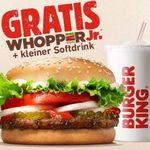 Burger King   Whopper Jr. + Softdrink geschenkt für Arbeitstätige im Gesundheitswesen