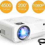 APEMAN LC550 Mini LED Beamer mit 4500 LM für 79,99€ (statt 130€)