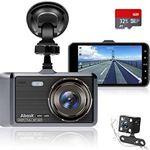 Abask D-01 – 1080p Dashcam mit 170° Weitwinkel & 32GB SD-Karte inkl. Rückkamera für 24,99€ (statt 50€)