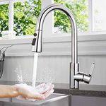 Tacklife DAKF6F 360° Wasserhahn mit einziehbaren Schlauch für 39,19€ (statt 49€)