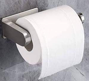 Yigii Toilettenpapierhalter aus Edelstahl ohne Bohren montierbar für 7,01€   Prime