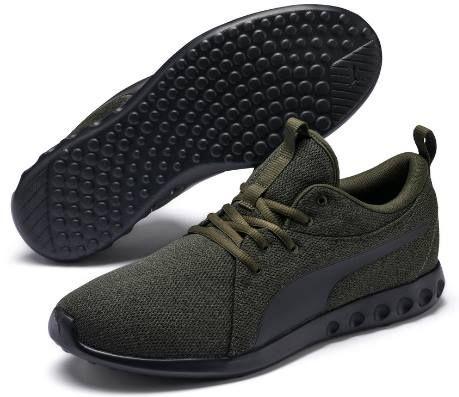 PUMA Carson 2 MultiKnit Schuhe in Grün für 29,99€ (statt 50€)