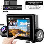 1080P Dashcam mit App Steuerung, GPS & Innenraumkamera für 59,99€ (statt 120€)