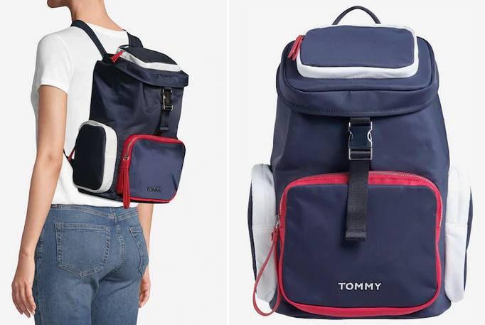Tommy Hilfiger Damen Rucksack TH NYLON BACKPACK für 65,40€ (statt 109€)