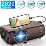Excelvan BL43 720p LED Beamer mit 4000 Lumen für 79,99€ (statt 100€)