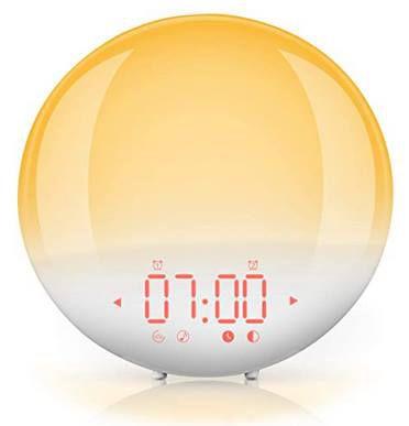 Lichtwecker mit 20 Helligkeitsstufen & 6 Naturtöne für 23,99€ (statt 36€)