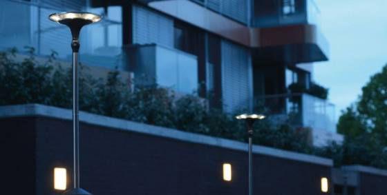 2x LUTEC SUN CONNEC LED Außen Solarleuchten Kiwa + Solarpanel für 32,39€ (statt 126€)