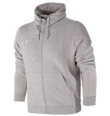 Abgelaufen! Nike Team Club Full Zip Sweatjacke in Hellgrau für 29,95€ (statt 41€)