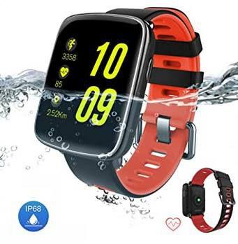 GV68 Smartwatch mit Herfrequenzmesser, Tracking & mehr für 35,39€ (statt 59€)