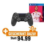 PlayStation 4 slim 1TB + 2 Controller + FIFA 20 für 299€ (statt 322€)